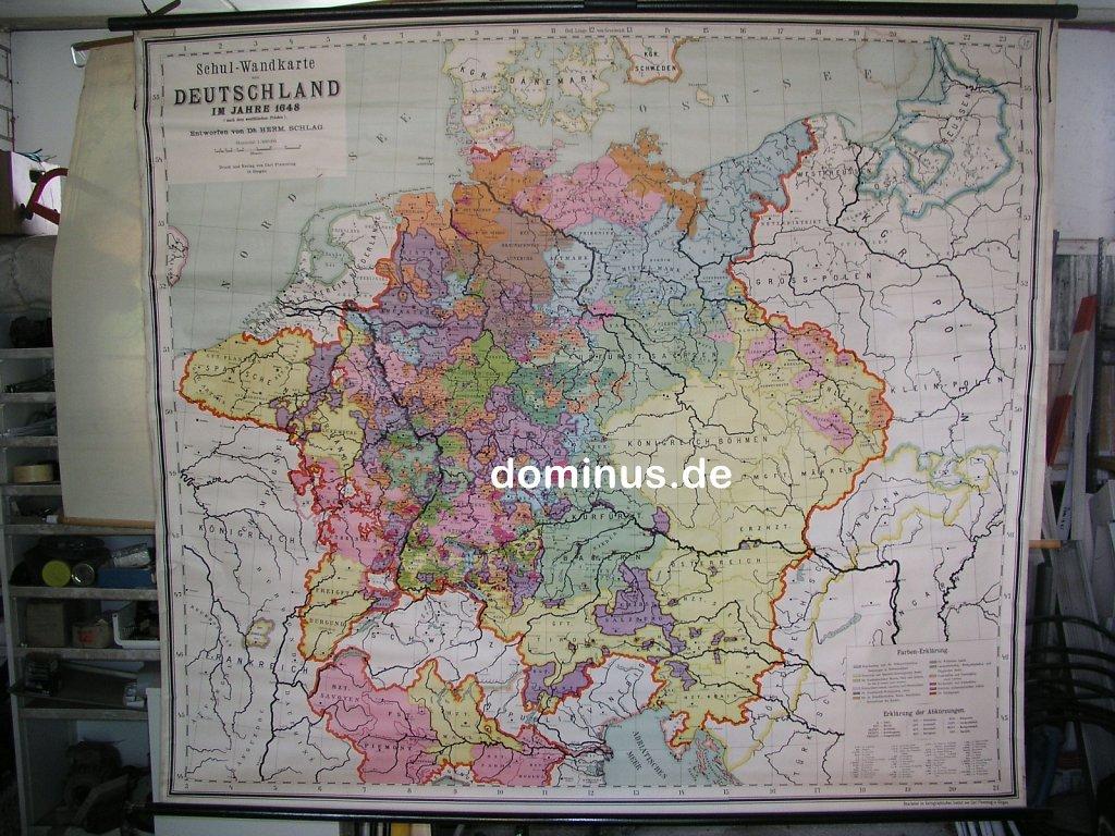Schul-Wandkarte-von-Deutschland-im-Jahre-1648-nach-dem-Westfae-Frieden-800T-FlemGlog-vor-ca1930-Wasserflecke-inOsts-193x173-OL115.jpg